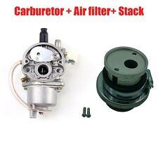 Carb Carburetor + Air Filter Stack For 47cc 49cc Mini Moto Dirt Pocket Bike