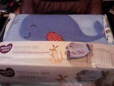 Parent'S Choice~Nursery Set~Whale~3 Piece Crib Bedding Set~New~Comforter Plus
