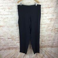 J Jill Black Full Length Dress Pants Size XL NEW NWT $99 Price on Tag