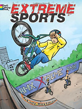 Extreme Sports Coloring Book Dover Coloring Books