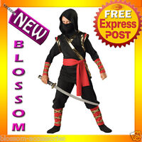 CK31 Ninja Child Kids Boys Fancy Dress Up Party Halloween Costume