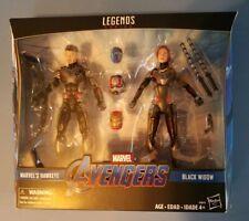 Marvel Legends 2 Pack Endgame Black Widow and Hawkeye