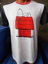 Mens Licensed Peanuts Snoopy Shirt New XL