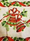 Beautiful+vintage+Christmas+tablecloth