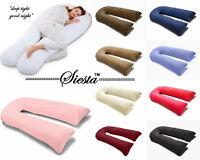 9Ft/12Ft U Pillow Body/Bolster Support Maternity Pregnancy Support Pillow+Case