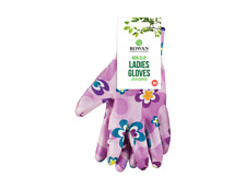 Ladies Women Designer Floral Gardening luxury General Working Gloves