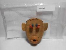 WOODEN MONKEY NECKERCHIEF SLIDE F9132