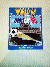 WORLD CUP 1998 France Monde 98 Diamond empty album - international edition