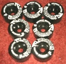 Anarchy Mayhem replacement Roller Skate Wheels 58mm (8) Very rare!