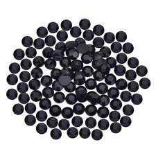 100 Stück Halbperlen goldgelb Ø5 mm Schmucksteine zum Aufkleben