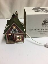 "New England Village Series "" Otis Hayes Butcher� W/ Box Light Up A366ss"