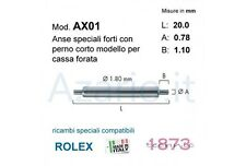 Anse speciali forti 2 pz rlx compatibili Rolex 20 mm Spring bars strong watch