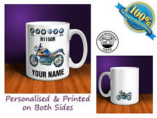 BMW R1150R Motorbike Personalised Ceramic Mug Gift (MB088)