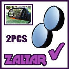 2 x schwarz Toter-Winkel konvexer Spiegel Abschlepp Auto Transporter Sicherheit