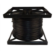500 FT Rg59 Siamese CCTV Combo Coaxial Cable Black 20awg 18/2 18awg PO