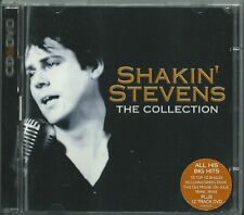 SHAKIN' STEVENS - THE COLLECTION 2005 UK CD/DVD OH JULIE IT'S LATE RADIO SHIRLEY