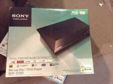 SONY BDP-S1100 BLU-RAY/DVD PLAYER 1080p UPSCALING,USB.2 REGION DVD PLAYBACK