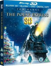 THE Polar Express 3D Blu-ray 3D + Blu-ray + DVD + Digital Copy [Region Free]