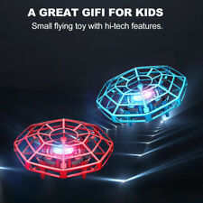 Mini Drone Ufo Infrared Sensor Induction Aircraft Flying Toy for Kids 2Pc
