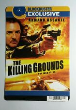 THE KILLING GROUNDS ARMAND ASSANTE MINI POSTER BACKER CARD (NOT a movie )