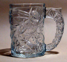 VINTAGE MCDONALDS BATMAN FOREVER GLASS COFFEE MUG 1995 BATMAN