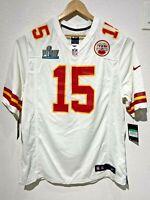 Nike Patrick Mahomes Kansas Chiefs Super Bowl LIV Men Jersey Sz XL 689314-114