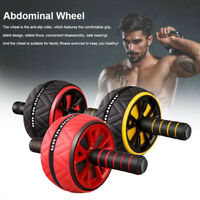 AB Abdominal Roller Wheel Fitness Waist Core Workout Exercise Wheel Gym Sport