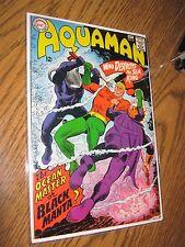 Dc Comic Book 1967 Aquaman 35 1st Black Manta Justice League Nice Copy 7.0