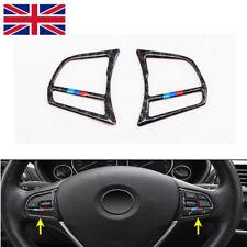 Steering Wheel Trim For BMW 1 3 4 Series Carbon Fiber Interior Accessories Strip