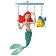 Hallmark 2017 Disney Little Mermaid Ariel's World NIB Keepsake Xmas Ornament