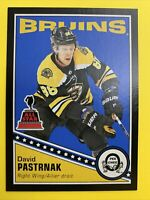 2019-20 O-Pee-Chee Hockey Retro All Star Black #308 David Pastrnak 66/100 B
