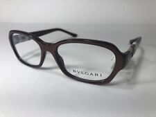 36c00fd0af New BVLGARI 4071-B 5177 Brown Designer Eyeglass Frame Swarovski Rx Women  Glasses