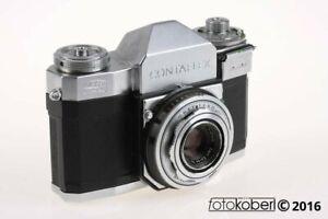 ZEISS IKON Contaflex II mit 45mm f/2,8 - SNr: G 67848