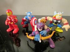 super hero squad marvel avengers lot captain america thor hawkeye ironman
