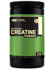 Optimum Nutrition Creatine Powder Micronized Monohydrate 100% 634g