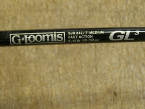 "G. Loomis SJR 842 GL3 7""  Med Power, Fast Rod w/ Penn 430 SSG 5.1.1 ratio reel"