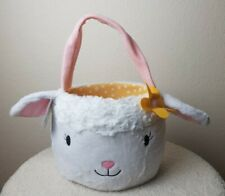 Lamb Easter Gift Birthday Basket. New With Tags
