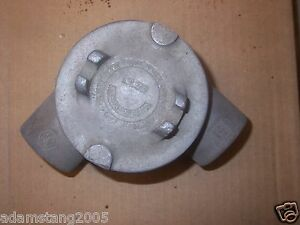 """CROUSE HINDS GUAN47 1 1/4"""" EXPLOSION PROOF JUNCTION BOX"""