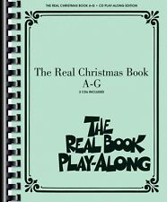 The Real Christmas Book Play-Along Vol. A-G Real Book Play-Along CD NE 000240431