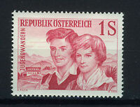 AUSTRIA 1960 MNH SC.652 Young Hikers,youth hostel movement