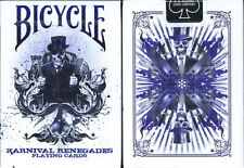 CARTE DA GIOCO BICYCLE KARNIVAL RENEGADES PURPLE,poker size