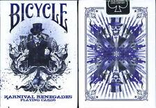 CARTE DA GIOCO BICYCLE KARNIVAL RENEGADES PURPLE,poker size