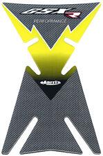 AUTOCOLLANT SUZUKI GSX-R jaune Moto protection renforcée réservoir