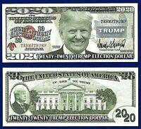 5-Howling Wolf Dollar Bills Wild Novelty Collectible FAKE MONEY-E2
