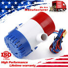 """3/4"""" 12V 750GPH 8Amp Submersible Electric Bilge Water Pump For Boat Marine Yacht photo"""