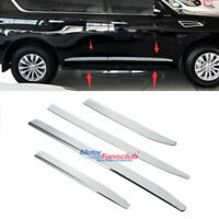 Side Door Body Molding Trim Protector Plate For Infiniti QX56 QX80 2011-2018