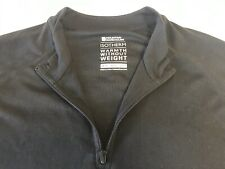 Mountain Warehouse Women's IsoTherm Thermal Base Layer Shirt Top Sz 10 Black