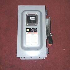 Square D CH362AWK Heavy Duty Fusible Disconnect Switch 3P 60A 600V Nema12