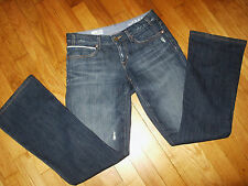 Gap 1969 Sexy Boot Cut Jeans Size 25 / 0 Low Rise Medium Wash Most Excellent