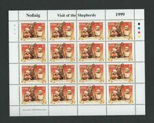 IRELAND Stamps:Sheetlet –1999 Christmas –Visit of Shepherds -16 x 32p MNH SG1280